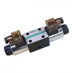 Électrovanne CETOP 3 - 4/3 - ABPT fermé au neutre - 24VDC - DSG-3C2-N-01-D24