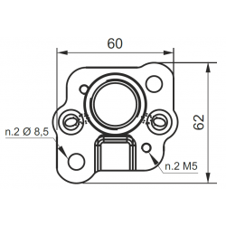 E60513025 - Adaptateur pour pompe groupe 0