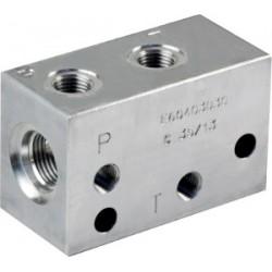 Bloc modulaire pour cartouche 2 voies - E60403030