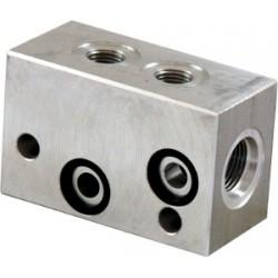 Bloc modulaire pour cartouche 3 voies - E60403031